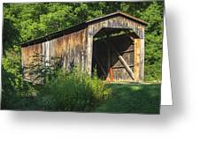 Milton Dye Covered Bridge  Greeting Card