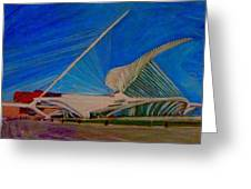 Milwaukee Art Museum Greeting Card