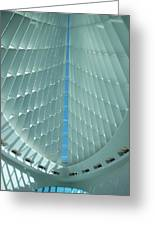 Milwaukee Art Museum Interior Greeting Card