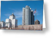 Milwaukee Cityscape Greeting Card
