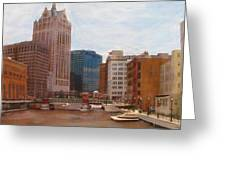 Milwaukee River View Greeting Card