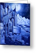 Minas Tirith Greeting Card