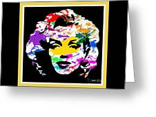 Mind Altering Marilyn Greeting Card