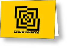 Mind Games 10se Greeting Card