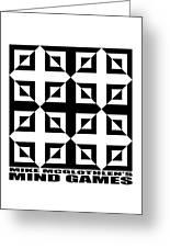 Mind Games 37se Greeting Card