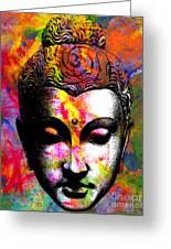 Mind Greeting Card by Ramneek Narang