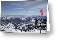 Mineral Basin Greeting Card