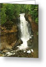 Miners Falls Greeting Card