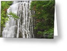 Mingo Falls Closeup Greeting Card