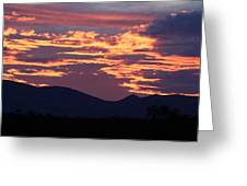 Mingus Sunset 052814a Greeting Card