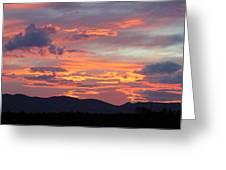Mingus Sunset 052814cc Greeting Card