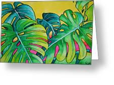 Mini Tropicals 3 Greeting Card