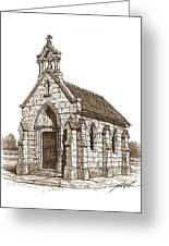 Miniature Church Of Froberville Greeting Card