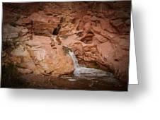 Miniature Waterfall Greeting Card