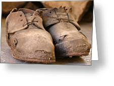 Mining Shoes  Langban Sweden Greeting Card
