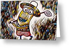 Minion 3 Greeting Card