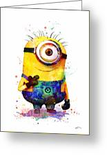 Minion 4 Greeting Card