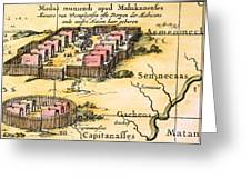 Minisink Village, 1650s Greeting Card