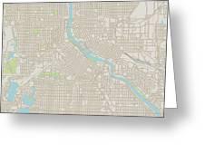 Minneapolis Minnesota Us City Street Map Digital Art By Frank Ramspott - Us-map-minneapolis