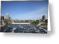 Minneapolis - Saint Anthony Falls Greeting Card