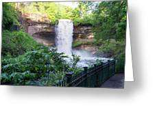 Minnehaha Falls Greeting Card