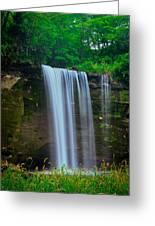 Minneopa Falls Greeting Card