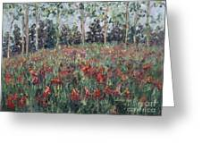 Minnesota Wildflowers Greeting Card by Nadine Rippelmeyer