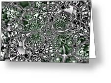 Mint Metal Greeting Card