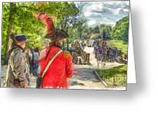 Minuteman And Redcoat Concord Ma Pencil Greeting Card