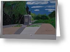Minuteman Memorial Greeting Card
