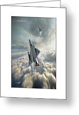 Mirage IIi   Greeting Card
