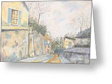 Mirage Of Utrillo Greeting Card