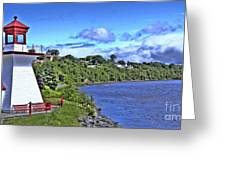 Miramichi Lighthouse Greeting Card