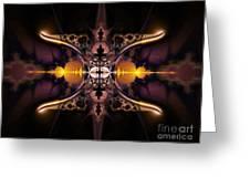 Mirror Gateway / Holga Effect Greeting Card