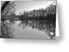 Mirror River Greeting Card
