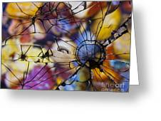Mirrored Pebbles Greeting Card