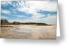 Mirrored Ripples Greeting Card