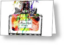 Miss Dior Grunge Greeting Card