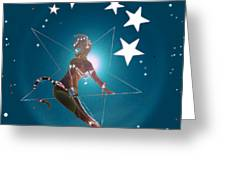 Miss Fifiswinging On A Star Greeting Card