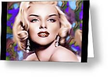 Miss Monroe Greeting Card