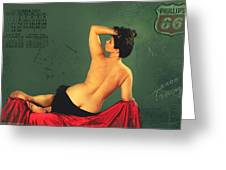Miss September Circa 1952 Greeting Card by Cinema Photography
