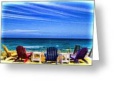 Pre-viewing   Seats Available Greeting Card