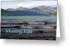 Missing You 1 Greeting Card
