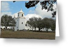 Mission At Goliad Greeting Card