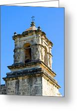 Mission Bell Tower Greeting Card