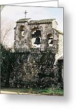 Mission Bells On Side Wall Greeting Card