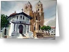 Mission Deloris Greeting Card