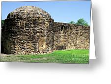 Mission Fort Greeting Card