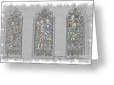 Mission Inn Chapel Stained Glass Greeting Card
