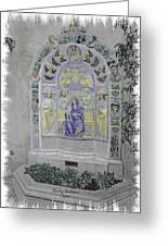 Mission Inn Chapel Greeting Card